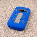 ZTE Concord 2 - Blue MPERO IMPACT XL - Kickstand Case Cover Angle 3