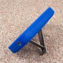 ZTE Concord 2 - Blue MPERO IMPACT XL - Kickstand Case Cover Angle 4