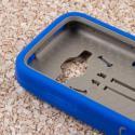 ZTE Concord 2 - Blue MPERO IMPACT XL - Kickstand Case Cover Angle 5
