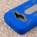 ZTE Concord 2 - Blue MPERO IMPACT XL - Kickstand Case Cover Angle 6