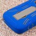 ZTE Concord 2 - Blue MPERO IMPACT XL - Kickstand Case Cover Angle 7