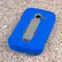 ZTE Prelude 2 - Blue MPERO IMPACT XS - Kickstand Case Cover Angle 3