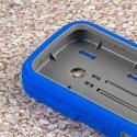 ZTE Prelude 2 - Blue MPERO IMPACT XS - Kickstand Case Cover Angle 5