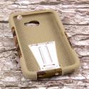Alcatel OneTouch Fierce 2 - Hunter Camo MPERO IMPACT X - Kickstand Case Angle 2