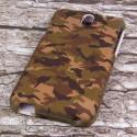 HTC Desire 610 - Green Camo MPERO SNAPZ - Case Cover Angle 3