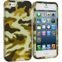 Apple iPhone 5 Meisai Hard Rubberized Design Case Cover Angle 1