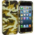 Apple iPhone 5 Meisai Hard Rubberized Design Case Cover Angle 2