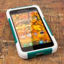 Alcatel OneTouch Fierce- TEAL GREEN MPERO IMPACT X - Kickstand Case Cover Angle 2