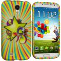 Samsung Galaxy S4 SuperStar Hard Rubberized Design Case Cover Angle 1