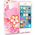 Apple iPhone 5/5S/SE Pink Fairy Tale TPU Design Soft Rubber Case Cover Angle 1