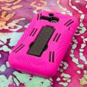 Alcatel OneTouch Evolve - Hot Pink MPERO IMPACT XL - Kickstand Case Cover Angle 3