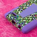 LG G4 - Purple Rainbow Leopard MPERO IMPACT X - Kickstand Case Cover Angle 7