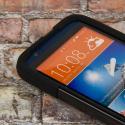 HTC Desire 510 512 - Black MPERO IMPACT X - Kickstand Case Cover Angle 5