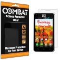 LG Mach LS860 Combat 6 Pack HD Clear Screen Protector Angle 1
