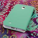 Samsung Galaxy Mega 6.3 - Mint MPERO FLEX FLIP Wallet Case Cover Angle 3