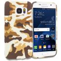 Samsung Galaxy S7 Camo TPU Design Soft Rubber Case Cover Angle 1