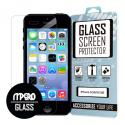 Apple iPhone 5 / 5S / 5C MPERO Tempered Glass Screen Protector Angle 1