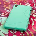 Sony Xperia Z2 - Mint Green MPERO FLEX S - Protective Case Cover Angle 3