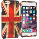 Apple iPhone 6 Plus 6S Plus (5.5) The Union Flag Hard Rubberized Design Case Cover Angle 1