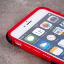 Apple iPhone 6 6S Plus - Red MPERO IMPACT SR - Kickstand Case Cover Angle 5