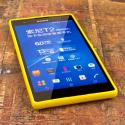 Sony Xperia T2 Ultra - Yellow MPERO FLEX S - Protective Case Cover Angle 2