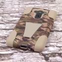 LG G Vista - Hunter Camo MPERO IMPACT X - Kickstand Case Cover Angle 3