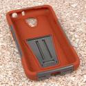 LG Volt - Sandstone / Gray MPERO IMPACT X - Kickstand Case Cover Angle 2