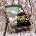 HTC One M8 - Hunter Camo MPERO IMPACT X - Kickstand Case Cover Angle 2