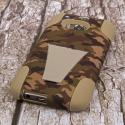 HTC One M8 - Hunter Camo MPERO IMPACT X - Kickstand Case Cover Angle 3