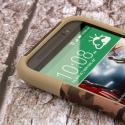 HTC One M8 - Hunter Camo MPERO IMPACT X - Kickstand Case Cover Angle 5