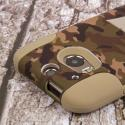HTC One M8 - Hunter Camo MPERO IMPACT X - Kickstand Case Cover Angle 6