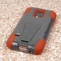 Samsung Galaxy S5 Mini - Sandstone / Gray MPERO IMPACT X - Kickstand Case Angle 3