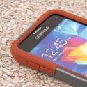 Samsung Galaxy S5 Mini - Sandstone / Gray MPERO IMPACT X - Kickstand Case Angle 5