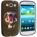 Samsung Galaxy S3 Kobra Snake TPU Design Soft Case Cover Angle 1