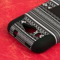 ZTE Imperial II - Black Aztec MPERO IMPACT X - Kickstand Case Cover Angle 6