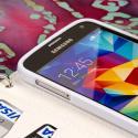 Samsung Galaxy S5 - Purple MPERO FLEX FLIP Wallet Case Cover Angle 4
