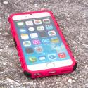 Apple iPhone 6/6S - Hot Pink MPERO IMPACT SR - Kickstand Case Cover Angle 2