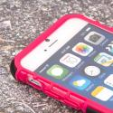 Apple iPhone 6/6S - Hot Pink MPERO IMPACT SR - Kickstand Case Cover Angle 5
