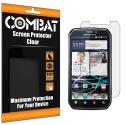 Motorola Photon 4G MB855 Combat 6 Pack HD Clear Screen Protector Angle 1