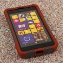 Nokia Lumia 635 - Sandstone / Gray MPERO IMPACT X - Kickstand Case Cover Angle 2