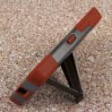 Nokia Lumia 635 - Sandstone / Gray MPERO IMPACT X - Kickstand Case Cover Angle 4