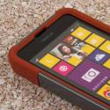 Nokia Lumia 635 - Sandstone / Gray MPERO IMPACT X - Kickstand Case Cover Angle 5