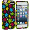 Apple iPod Touch 5th 6th Generation Star Clan Hard Rubberized Design Case Cover Angle 1