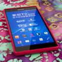 Sony Xperia T2 Ultra - Hot Pink MPERO FLEX S - Protective Case Cover Angle 2