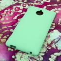 HTC 8XT MPERO Full Protection Hard Rubberized Mint Case Cover Angle 3