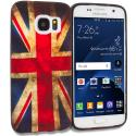 Samsung Galaxy S7 Edge The Union Flag TPU Design Soft Rubber Case Cover Angle 1