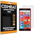 Nokia Lumia 1520 Combat 6 Pack HD Clear Screen Protector Angle 1