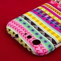 BLU Life One - Aztec Fiesta MPERO SNAPZ - Rubberized Case Cover Angle 6