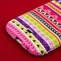 BLU Life One - Aztec Fiesta MPERO SNAPZ - Rubberized Case Cover Angle 7