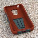 Motorola DROID TURBO - Sandstone / Gray MPERO IMPACT X - Kickstand Case Angle 2
